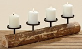Kerzenleuchter rustikal