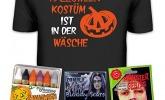 Anti Halloween T-Shirt und Schminkset