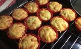 Herzhafte LowCarb Muffins