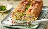 Spargel-Blätterteig Pastete