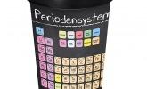 Becher mit Periodensystem