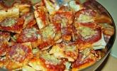 Mini - Snack - Pizzen aus Blätterteig
