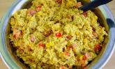 Curry - Reissalat mit Mais und Paprika