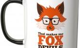 Tasse Fox Devils Wild