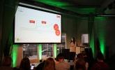 Christina, Social-Media-Redakteurin bei Chefkoch, zeigte an Chefkoch-Praxis-Beispielen, wie man bei Pinterest durchstarten kann.