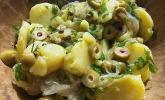Kartoffelsalat mit Oliven