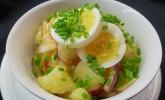 Warmer dänischer Kartoffelsalat