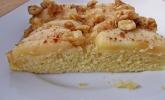 Apfel-Walnuss-Kuchen mit Ahornsirup