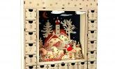 """Adventskalender """"Wintertraum"""" aus Holz"""