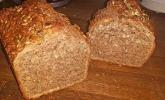 Laktosefreies Brot ohne Hefe