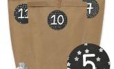DIY  Adventskalender Set zum selber Basteln