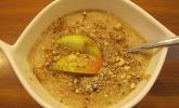Chia-Pudding mit Äpfeln und Zimt