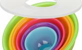 Schüsselset Rainbow 8-teilig