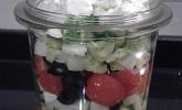 Salat im Glas / Salat fürs Büro