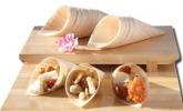 Bambuskegel für Fingerfood