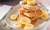 Bananen-Pancakes