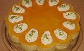 Pistazien - Pfirsichcreme - Torte