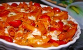 Platz 17: Cremiger Nudelauflauf mit Tomaten und Mozzarella