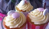 Limoncellocupcakes mit Zitronen-Frischkäse-Frosting
