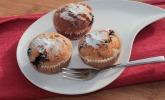 Blaubeer-Kichererbsen-Muffins