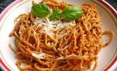 Spaghetti mit Tomaten-Pesto