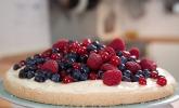 Biskuitkuchen mit Beeren