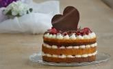 Naked Cake-Erdbeer-Mascarpone