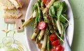 Spargel - Spinat - Salat