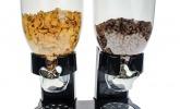 Doppel-Spender für Müsli, Cornflakes und Cerealien