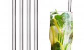 Glas-Strohhalme 20cm