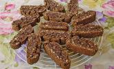 Biscotti mit Haselnüssen und Chocolate