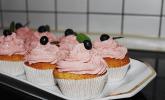Strawberry Frosting für Cupcakes