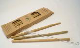 Bambus Strohhalme im 10er Set