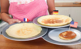 Platz 03: Pfannkuchen, Crêpe und Pancake