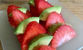 Avocado-Erdbeer-Vorspeise