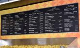 Die Speisekarte im Bonner Juut Food