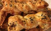 Platz 3: Blätterteig-Schinken-Käse-Stangen