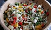 Paprika-Fenchel-Salat: Dieses Rezept hatte bisher noch kein Foto – zukünftig schon und zwar dieses hier…
