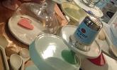Hübsche Tortenständer und Platten