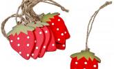 Erdbeer Deko Anhänger