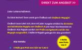Exemplarische Werbe-Grafik in einem Parnter-Newsletter des DPV