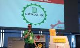 Chefkoch ist stolzer Sponsor des Barcamps