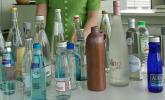 Die Qual der Wahl – so viel Mineralwasser gab es beim Wassertasting
