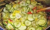 Gurken-Salat rümanischer Art