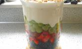 Frucht-Schicht-Salat