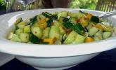 Gurkensalat süß - sauer