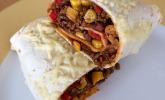 Mexiko: Burrito mit Hackfleisch und Gemüse