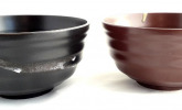 2er Set japanische Suppenschalen, 16,2 cm