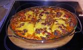 Pizzasuppe überbacken
