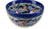 Bunzlauer Keramik handbemalte Schüssel 13 cm